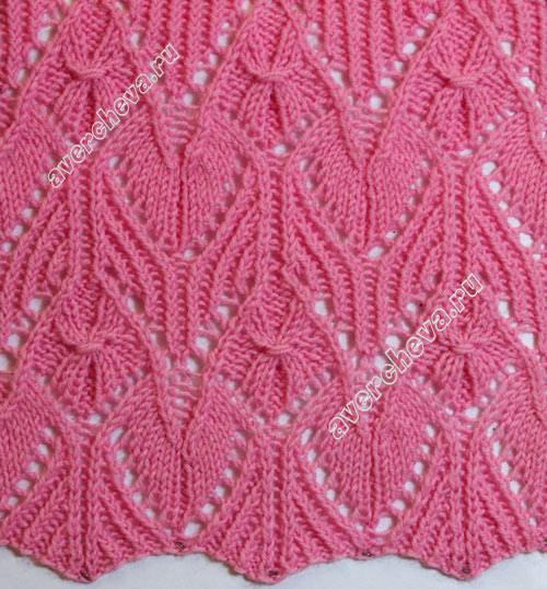 Japanese knitting pattern with step-by step instruction. http://crochetandknitstudio.blogspot.com/2017/04/knitting-pattern-2-japanese-pattern.html